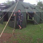 tenda komando tni