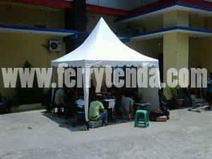 tenda event kerucut