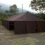 tenda pengungsi garut